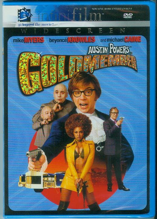 AUSTIN POWERS IN GOLDMEMBER (2002) (NEW) MIKE MYERS/BEYONCE KNOWLES