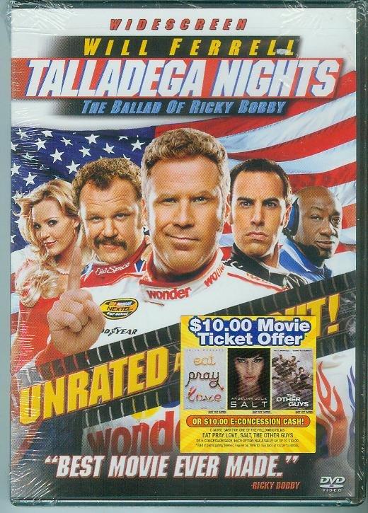 TALLADEGA NIGHTS (2006) Widescreen WILL FERRELL