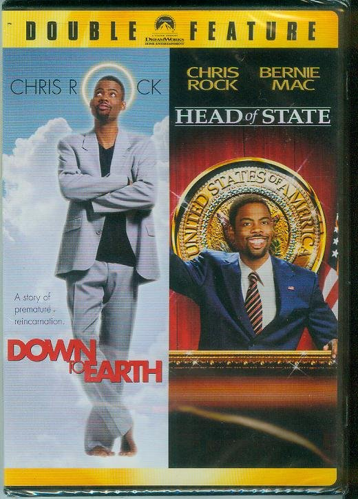 DOWN TO EARTH/HEAD OF STATE DOUBLE FEATURE (2007) (NEW) CHRIS ROCK