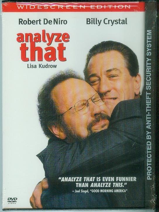 ANALYZE THAT (2003) (NEW) ROBERT DeNIRO/BILLY CRYSTAL