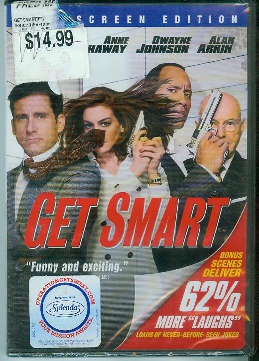 GET SMART (2008) (NEW) STEVE CARELL/ DWAYNE (THE ROCK) JOHNSON