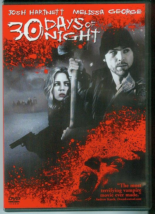 30 DAYS OF NIGHT (2008) (PLAYED ONCE) JOSH HARTNETT/MELISSA GEORGE