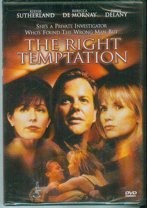 THE RIGHT TEMPTATION (2001) (NEW) KIEFER SUTHERLAND/REBECCA DE MORNAY