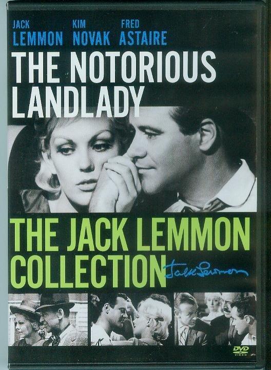 The Notorious Landlady (DVD, 2011 ) (NEVER PLAYED) JACK LEMMON/KIM NOVAK/FRED ASTAIRE
