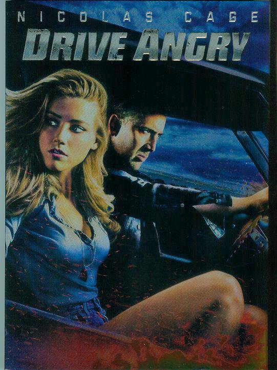 Drive Angry (DVD, 2011) (PLAYED ONCE) NICOLAS CAGE