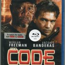 The Code (Blu-ray Disc, 2009) Morgan Freeman/Antonio Banderas