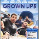 Grown Ups (Blu-ray/DVD, 2010, 2-Disc Set)