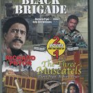 Black Brigade/The Three Muscatels (DVD, 2004) Richard Pryor/Billy Dee Williams
