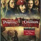 Pirates of the Caribbean: At World's End (DVD, 2007) Johnny Depp/Orlando Bloom