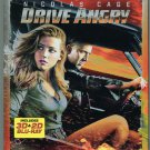 Drive Angry (Blu-ray Disc, 2011, 2-Disc Set, 2D/3D) Nicolas Cage/Amber Heard