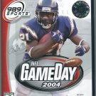 NFL GameDay 2004 (Sony PlayStation 2, 2003)
