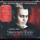 Sweeney Todd Demon Barber of Fleet Street 2007 Deluxe Edit. Johnny Depp (CD Dec-2007 Nonesuch USA)
