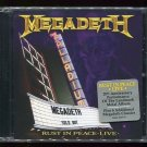 Rust in Peace Live by Megadeth (CD, Aug-2010, Shout! Factory)