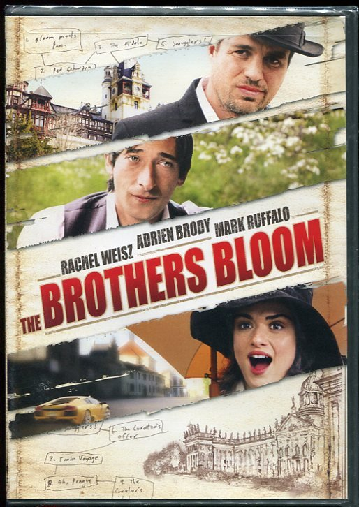 the brothers bloom dvd 2010 adrien brody mark ruffalo