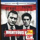 Righteous Kill (Blu-ray Disc, 2009) Robert De Niro, Al Pacino