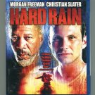 Hard Rain (Blu-ray Disc, 2010) Christian Slater, Morgan Freeman