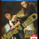 Wanted (Blu-ray Disc, 2008, 2-Disc Set) Angelina Jolie, Morgan Freeman