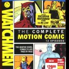 Watchmen: The Complete Motion Comic (Blu-ray, 2009 2- Disc)