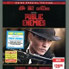 Public Enemies (Blu-ray Disc, 2009, 2-Disc Set, Special Edition)
