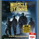 Miracle at St. Anna (Blu-ray Disc, 2009, Widescreen)