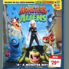 Monsters vs Aliens (Blu-ray Disc 2009)