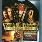 Pirates of the Caribbean: Curse of the Black Pearl (blu-ray 2 Disc Set)