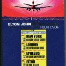 Dream Ticket by Elton John (4 DVD Box Set, Aug-2005)