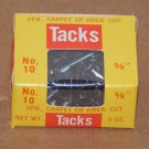 "(10) 2oz Boxes Tacks #10 5/8"" Tower Brand UPH. Carpet Or Amer. Cut"