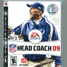 NFL Head Coach 09 PlayStation 3 (upc has hole in it but factory wrapped)