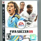 FIFA Soccer 2009 PlayStation 3 (upc has hole in it but factory wrapped)