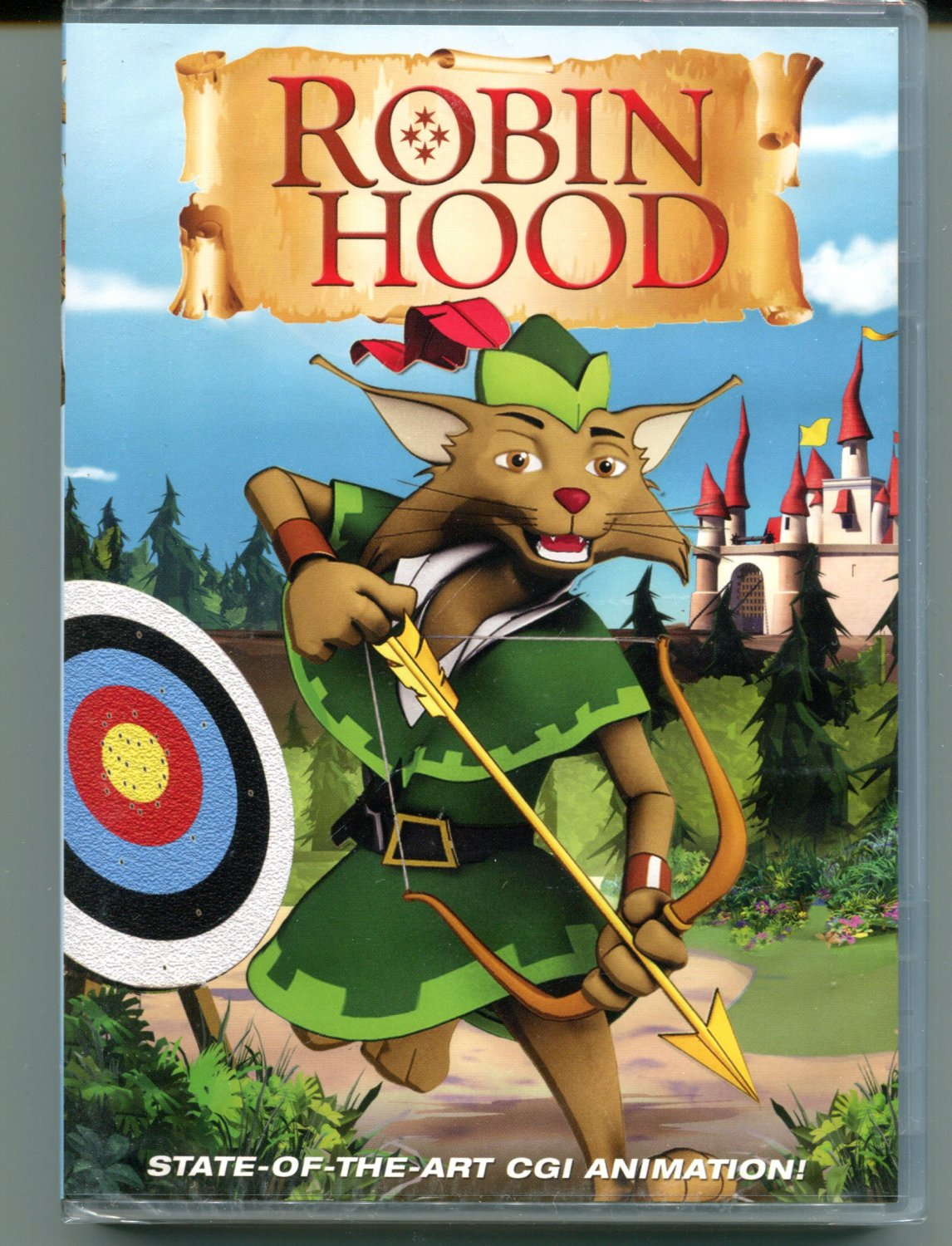 Robin Hood (DVD, 2010) State of the Art CGI Animation.