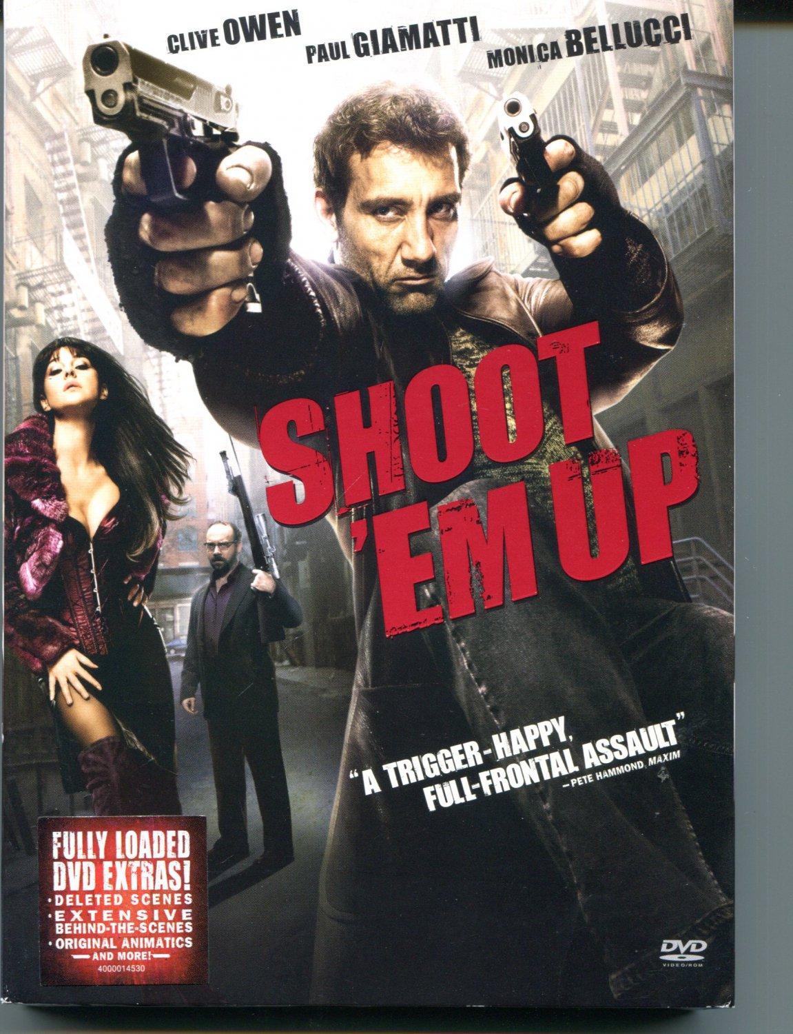 Shoot 'Em Up (DVD, 2008)