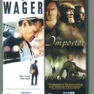 The Wager / The Imposter (DVD 2007, 2010) Double Feature)
