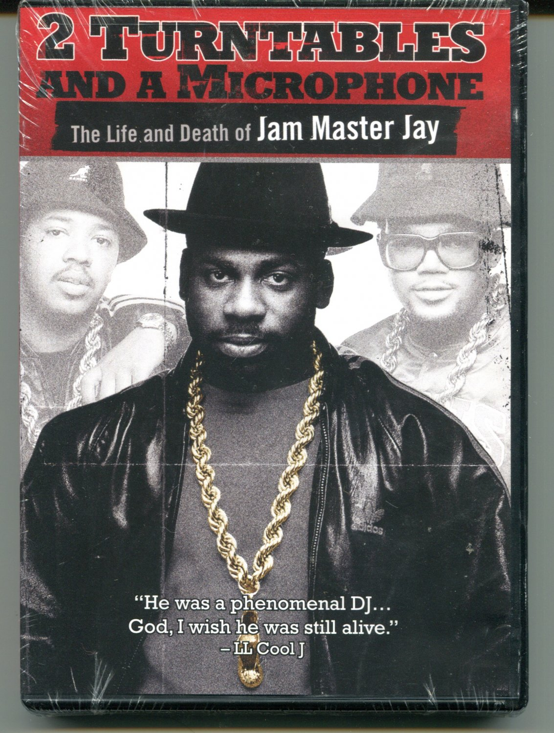 2 Turntables and a Microphone - Life and death of Jam Master Jay (DVD 2008)