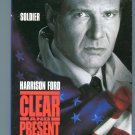 CLEAR AND PRESENT DANGER (VHS, 1995)