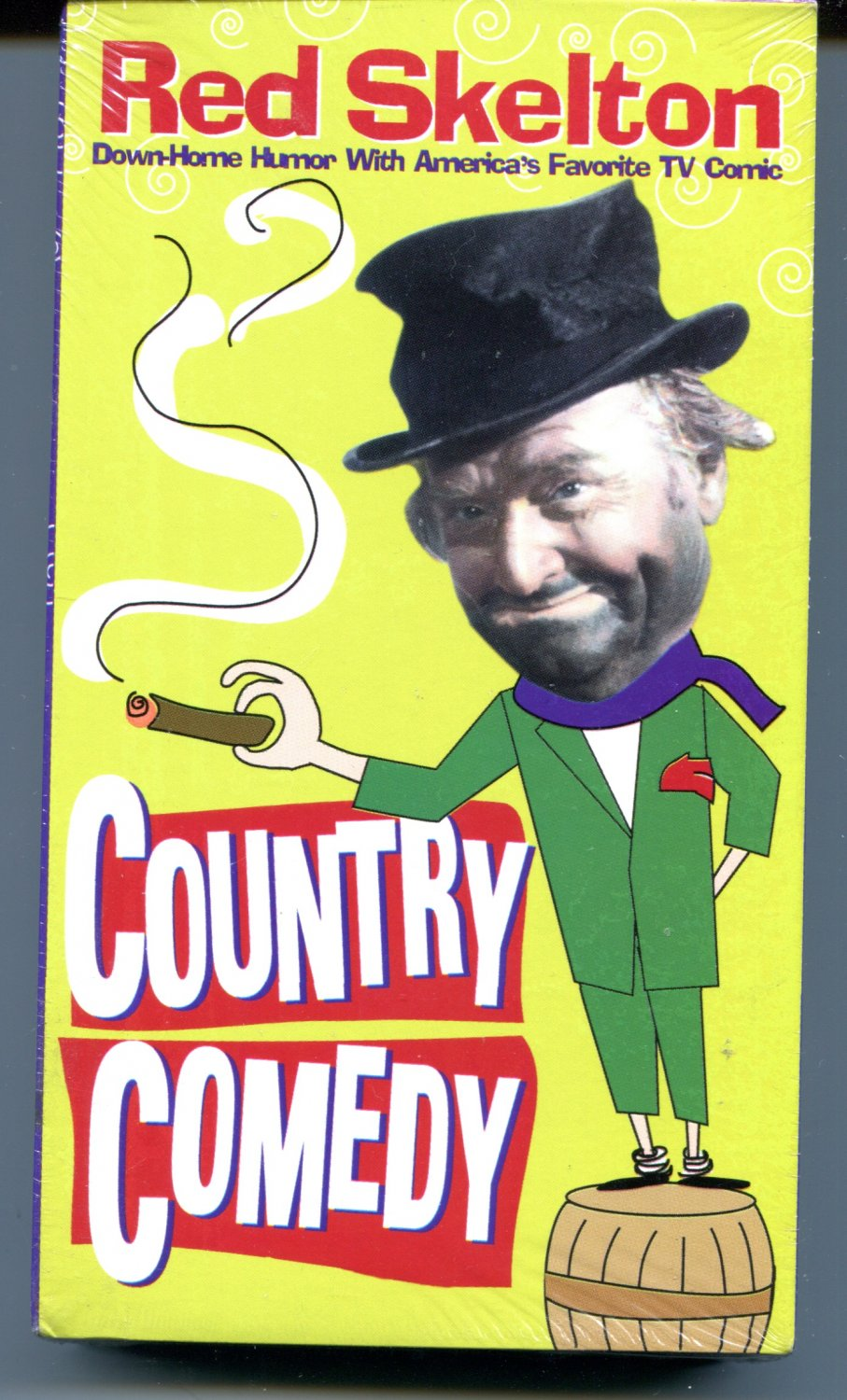 Red Skelton: Country Comedy (VHS 1994)