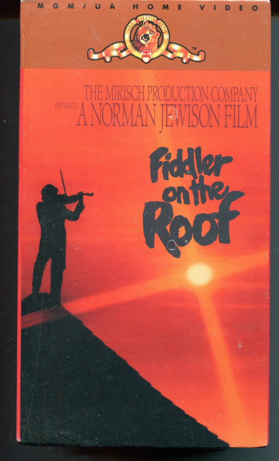 Fiddler On The Roof (Color 1971 -  2 VHS SET )