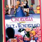 Cinderella and Alice in Wonderland (VHS 1986)