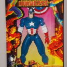 """Marvel Universe Captain America Deluxe Edition 10"""" Tall (1997) Sealed Box"""