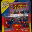 Massacre & Full Assault Superman Two Pack (1995) Added Shipping Cost Outside USA