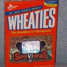 Wheaties Roger Staubach Super Bowl VI Replays (1996) Sealed Box