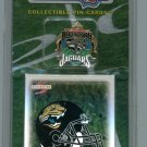 Jacksonville Jaguars Inaugural Season (1995) Pin-Card Set.