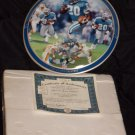 Barry Sanders The Games Greatest Plate + COA And Box (1997)