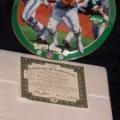 Joe Namath: Super Bowl III The Guarantee Plate + COA And Box (1995)