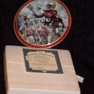 Jerry Rice The Games Greatest Plate + COA And Box (1997)