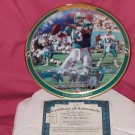 Dan Marino The Game's Greatest Plate + COA And Box (1997)