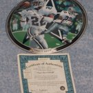 Emmitt Smith: Super Bowl XXVII Running To Daylight Plate + COA & Box (1998)
