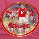 Steve Young The Game's Greatest Plate + COA And Box (1997)