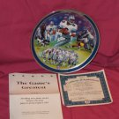 Troy Aikman The Game's Greatest Plate + COA And Box (1997)