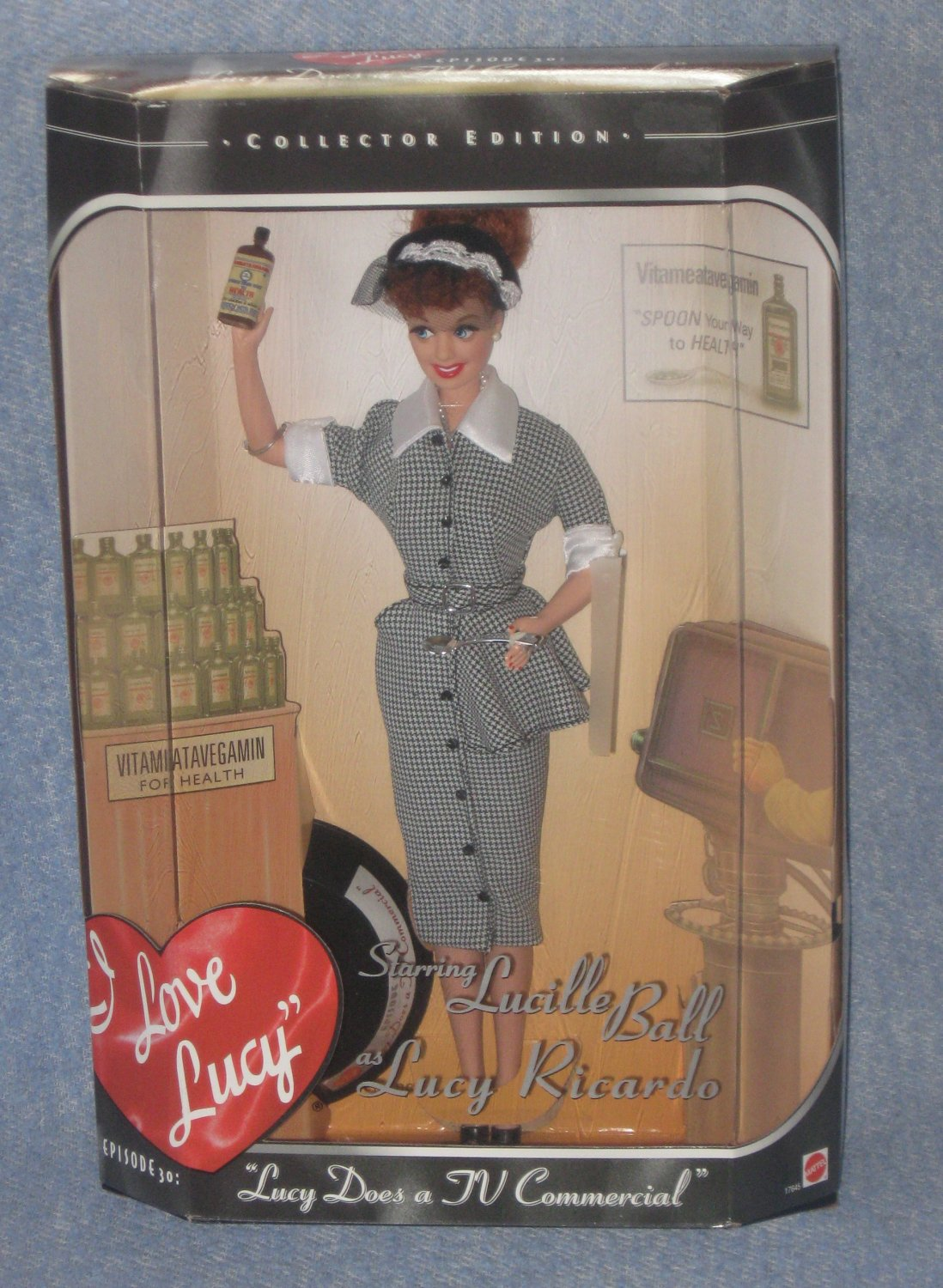 Barbie in I Love Lucy Does a Commercial Episode 30 Vitameatavegamin Added Shipping Cost Outside USA